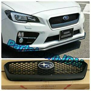 2015 2016 2017 Wrx Sti Genuine Jdm Subaru Oem Grille Front S4