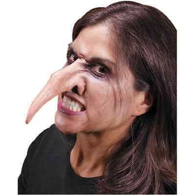 Evil Nose Witch Monster Hook Dress Up Halloween Costume Makeup Latex Prosthetic