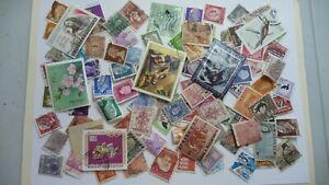 2133-lot-100-timbres-seconds-plusieurs-pays