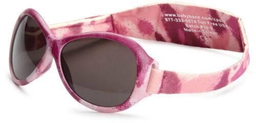 Baby Banz Kidz Retro Sunglasses Kidz Pink Diva Camo Ages 2-5 Glossy
