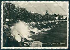 Brescia Desenzano del Garda Lago di PIEGHINE Foto FG cartolina VK2835