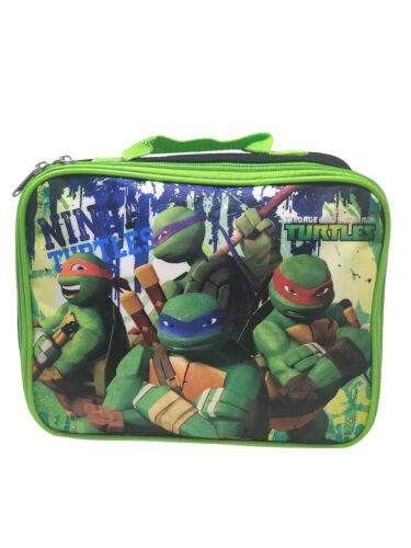 Teenage Mutant Ninja Turtles Insulated Lunch Bag TMNT Stencil Graphic