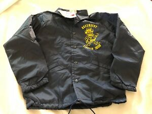 Vintage-Rosemont-Pelees-Irlandes-Ninos-Chasquear-Frontal-Chaqueta-Youth-Pequeno