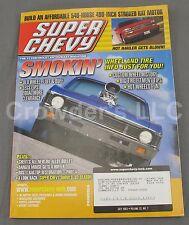 Super Chevy July 2003 Vol 32 #7 Smokin Wheel and Tire Info Old Wheel Fluff Buff