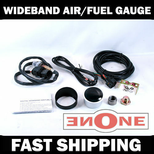 Mookeeh MK1 Starion Conquest Wideband Air//Fuel Ratio Gauge Kit AFR w Free Pod
