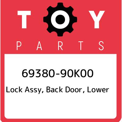 BACK DOOR NO.1 75430-90K00 7543090K00 Genuine Toyota EMBLEM ASSY