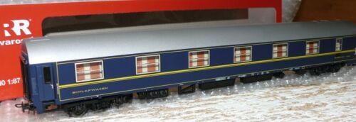 HS RIVAROSSI hr4240 vagone letto tipo MU/' 73 delle FS epoca IV in ex-CIWL-colore