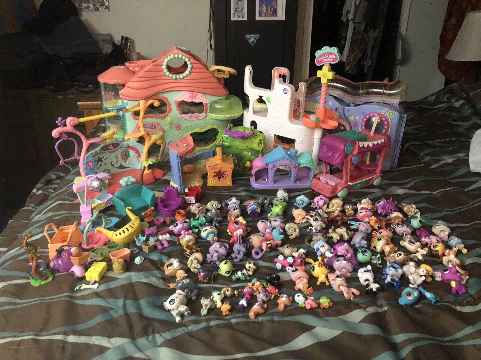 134 Lilla Lot Lilla Petshops, plus ton mer, READ, jag betalade över 500  nya