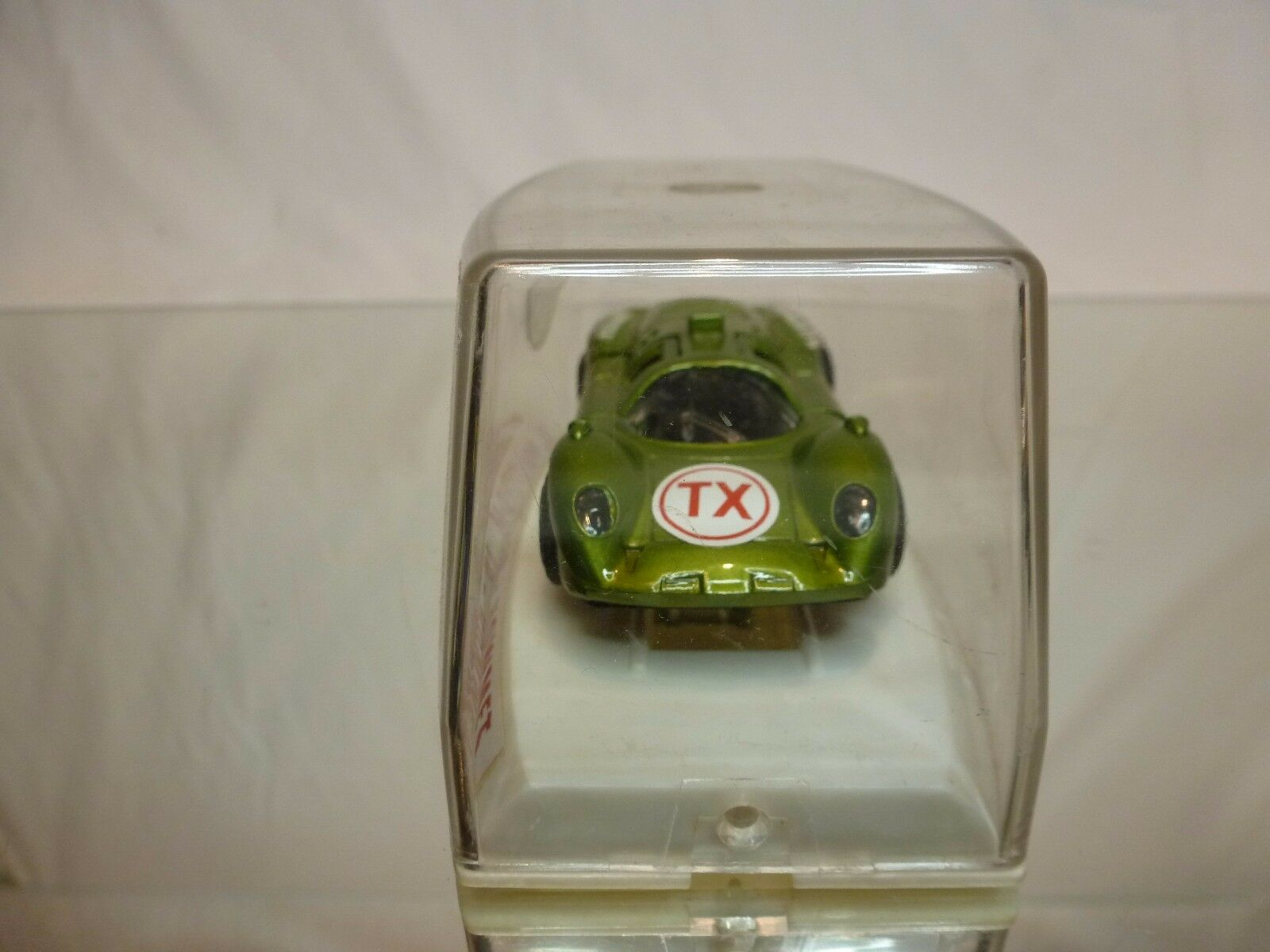 POLITOYS M10 HOWMET HOWMET HOWMET TX TURBINA - GREEN METALLIC 1 43 - VERY GOOD IN BOX 95435e