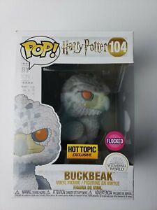 Vinyl Harry Potter Flocked Buckbeak 104 Hot Topic Exclusive Funko POP