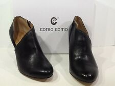 CORSO COMO Women's Yonkers Size 7.5 M Black Leather Ankle Boots Shoes X2-2072