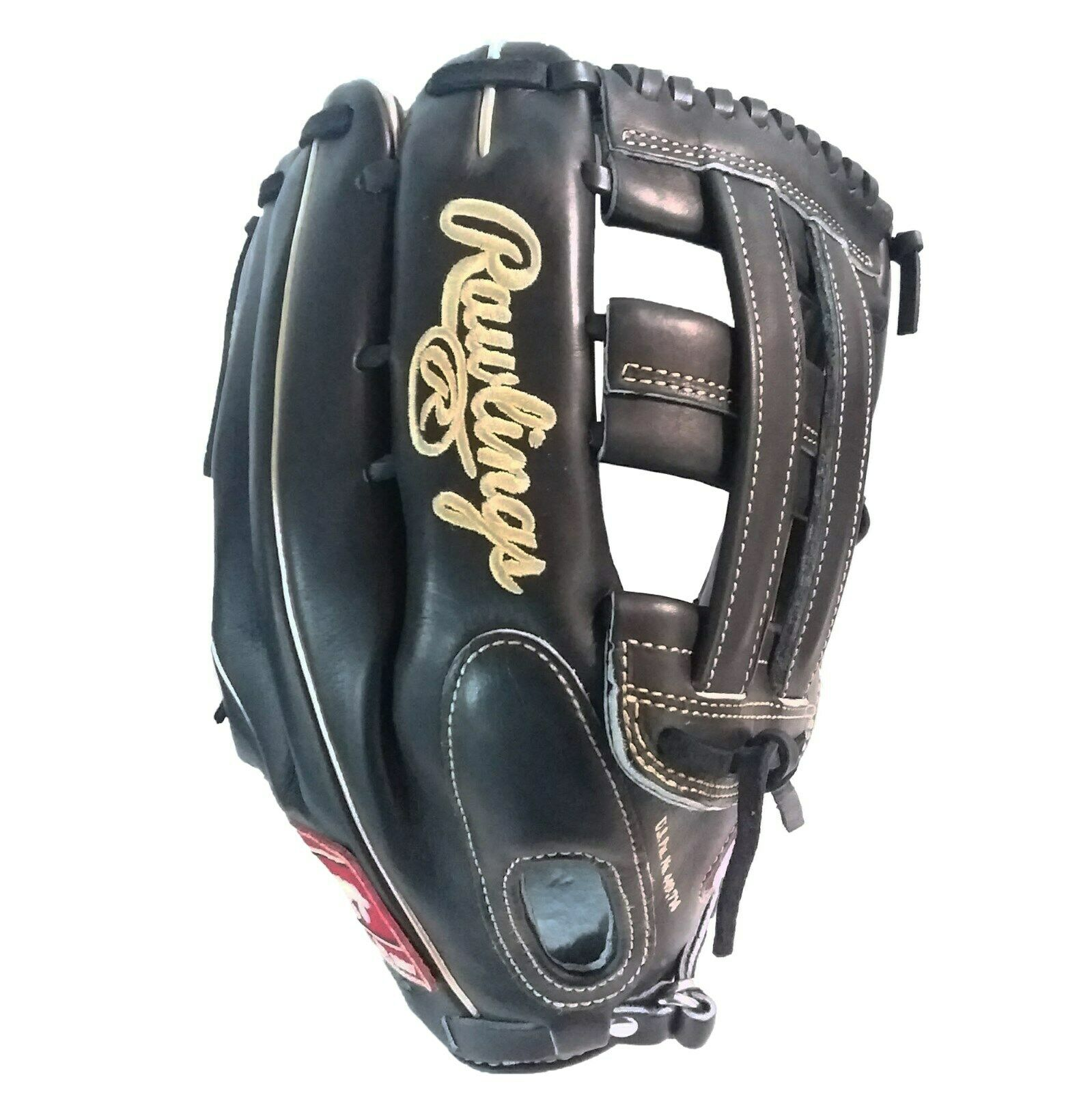 """RAWLINGS PRO ISSUE//STOCK Pro Preferred 12.75/"""" Right Hand Throw-PROS27HFBPRO #10"""