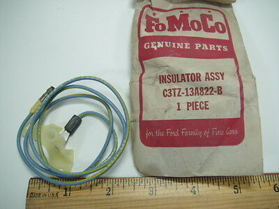 1963 64 65 66 Ford F-100 Pickup Insulator - Horn Blowing Switch - NOS LAST ONE!