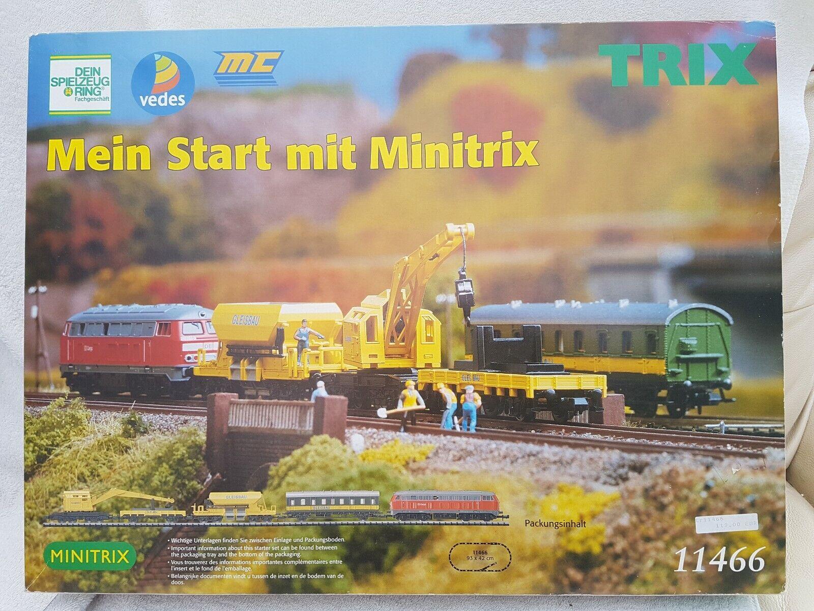 Minitrix N Gauge 11466 Gleisbau Set In Excellent Condition