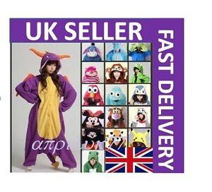 Unisex-Adult-Animal-Onsie1-Onesie11-Anime-Cosplay-Pyjamas-Kigurumi-Fancy-Dress
