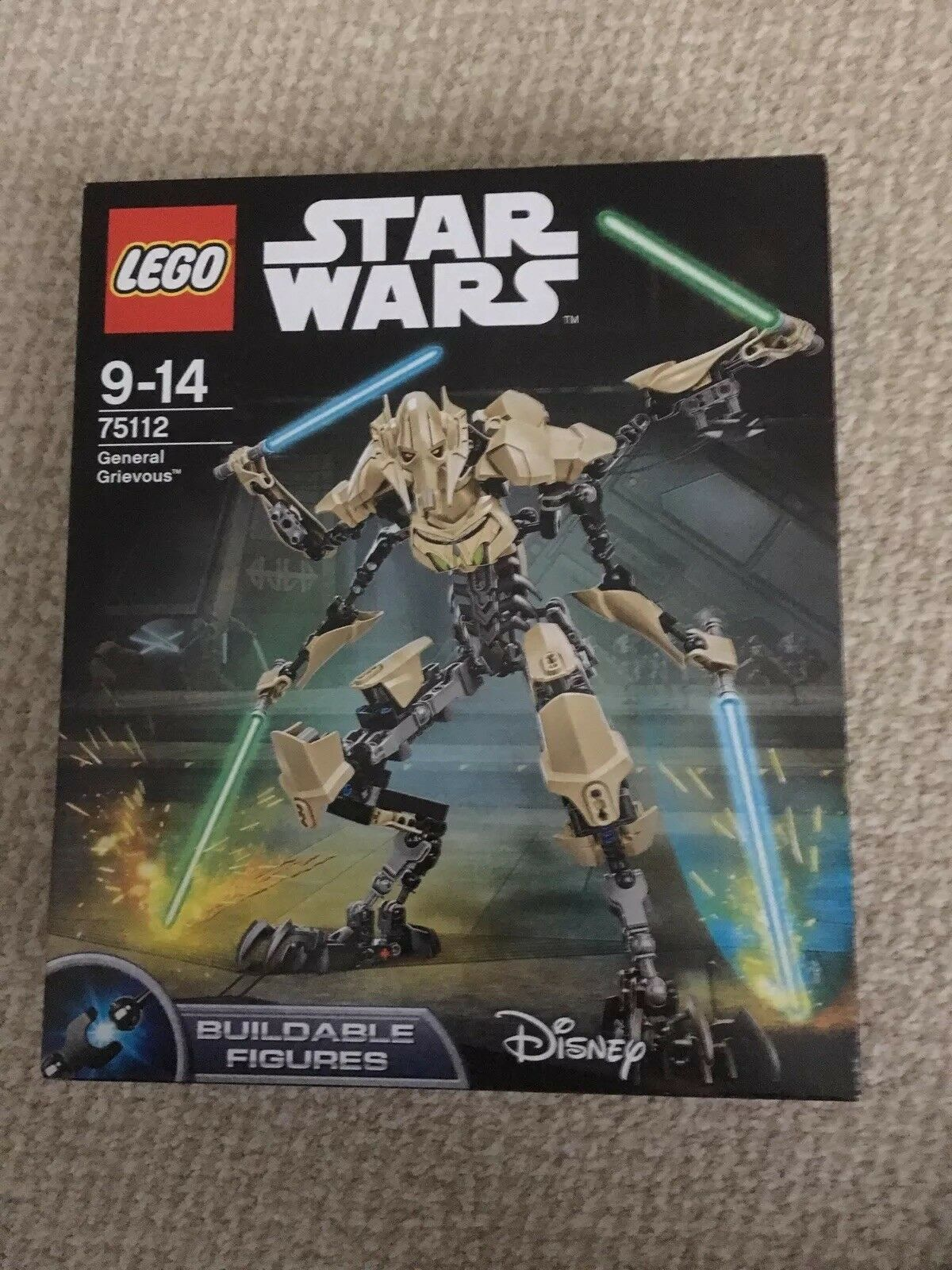 LEGO STAR WARS 75112. GENERAL GRIEVOUS NEW. SEALED.