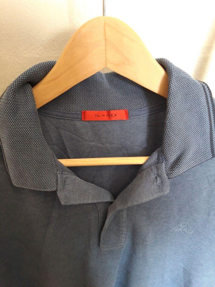 Polo t-shirt, Sand, str. XL