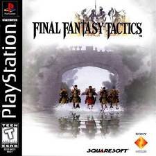 Final Fantasy Tactics - PS1 PS2 Complete Playstation Game