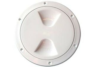 "NAUTOS 13.571 - PLASTIC DECK PLATE - INSIDE DIAMETER 8"" / 203 MM - UV RESISTANT"