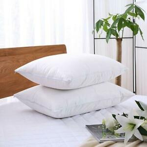 Waterproof-Pillow-Protector-Cover-Zipper-Housewife-Terry-Pillow-Cases-Pair-Pack