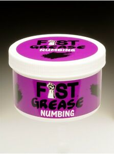 fist it numbing water based sex lube 500ml
