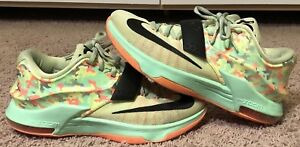 new style 7285d f3a97 Details about Nike KD 7 Easter Basketball Shoes Size Mens: 9