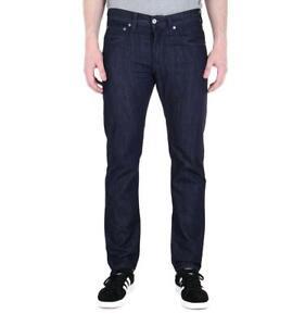 Para-Hombre-Edwin-ED-55-Kingston-Azul-Denim-Lavado-Regular-Conico-Jeans