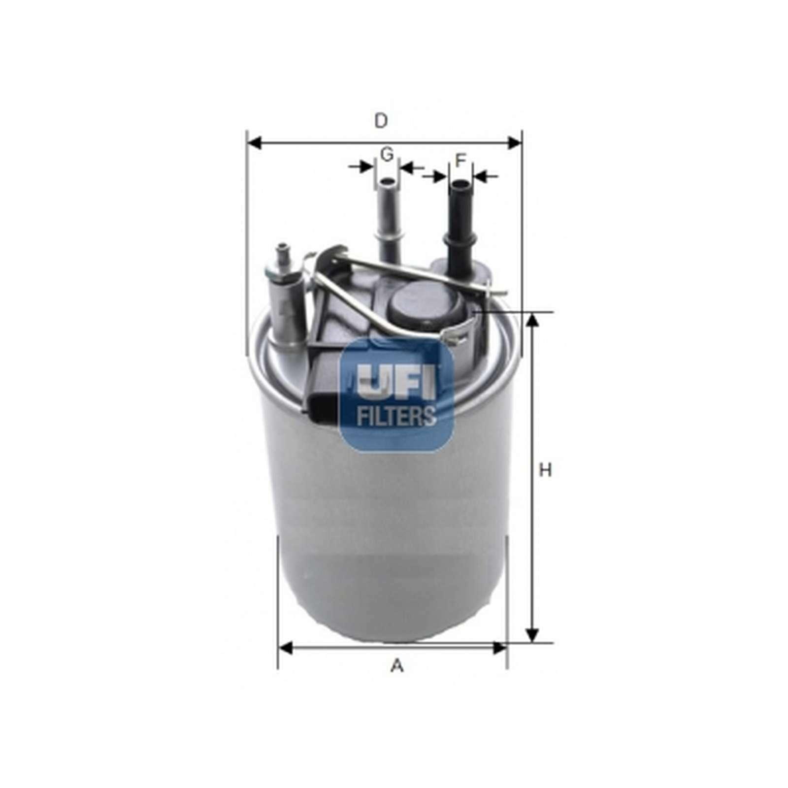 24.080.00 Genuine UFI Fuel Filter