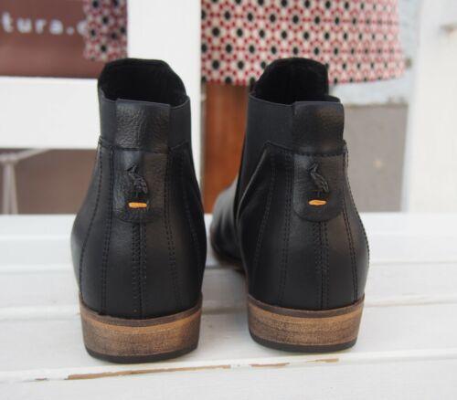 HUB Footwear KIM L81 Echtleder Celsea Boot Stiefelette Black Größe NEU SALE