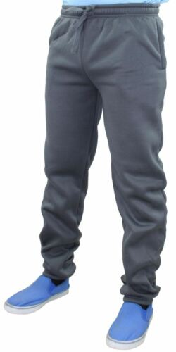 Mens Jogging Bottoms Joggers Tracksuit Fleece Gym Trousers Running Fitness