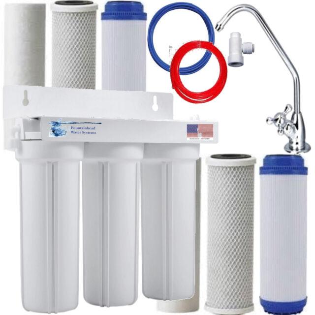 under sink water chiller ro plant fountainhead stage under sink water filter system bonus filters