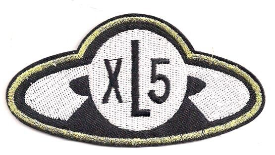 "Fireball XL5 Logo  4"" Wide Embroidered Patch- FREE S&H (FBPA-01)"