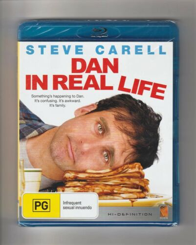 1 of 1 - Dan In Real Life Blu Ray - Brand New & Sealed