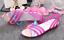 Women-039-s-Summer-Open-Toe-Jelly-Flat-Sandals-Beach-Rainbow-Color-2018-Shoes-Sandal thumbnail 4