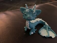 OOAK Fantasy Sea Dragon Handmade Polymer Clay Figure