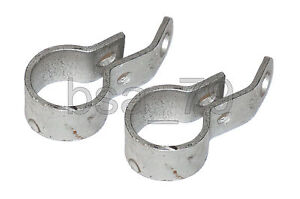 Exhaust header pipe clamp (set of 2 pcs) URAL