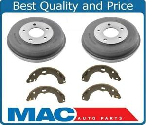 Stirling with 2 Years Manufacturer Warranty Both Left and Right 2008 For Hyundai Accent Rear Drum Brake Shoes Set