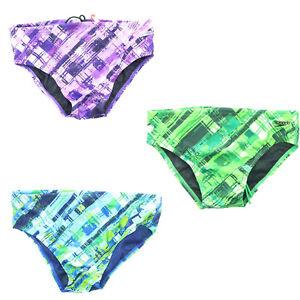 e7304f82f Details about Speedo Men's Competitive Swimsuit Swimsuit Active Trunk Short  Briefs 8051371