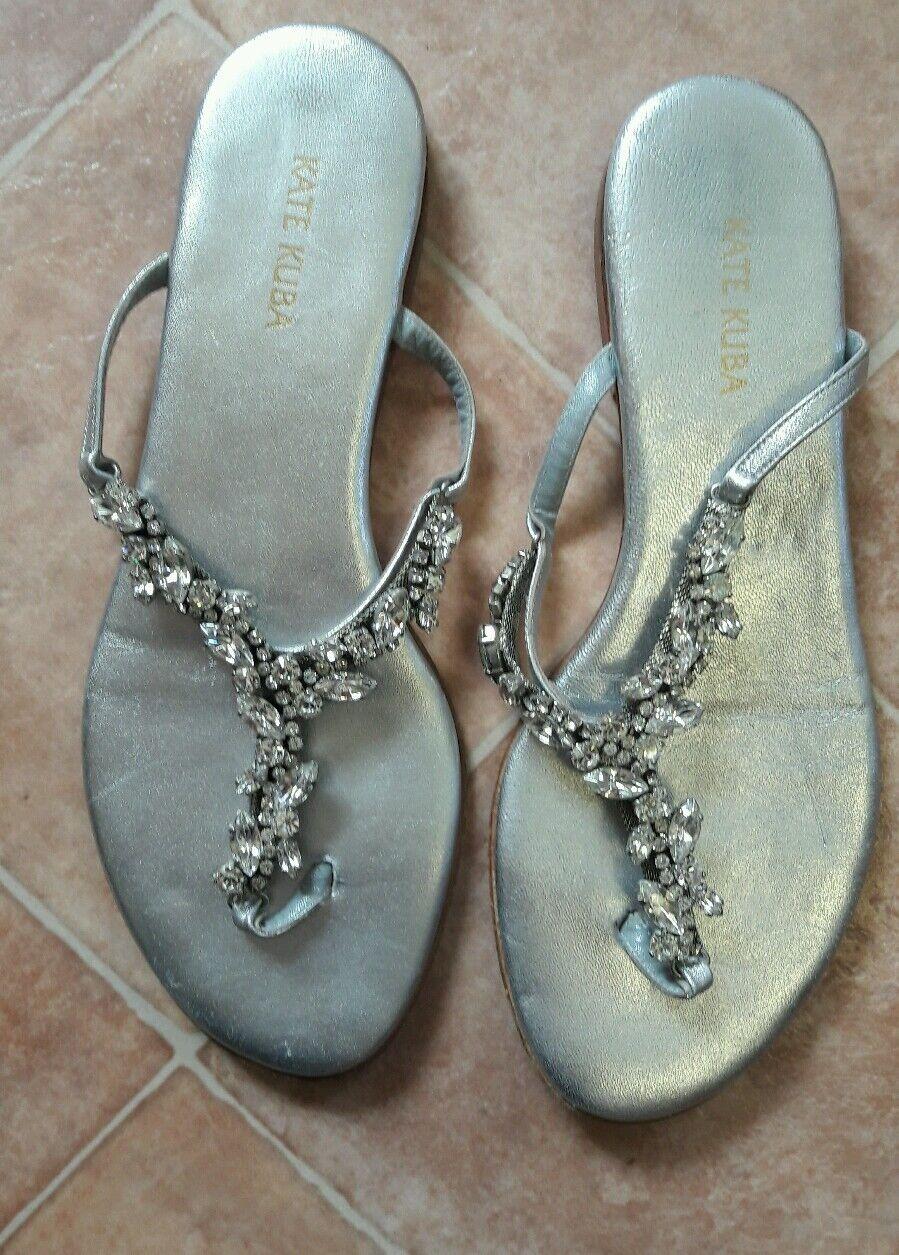 Flat Flat Flat jewelled sandal 100 leather 0bffb8