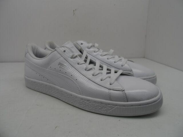 Size Shoe White Sneakers Classic Men's Casual 12m Basket Puma Fashion Croc 34LqAc5jR