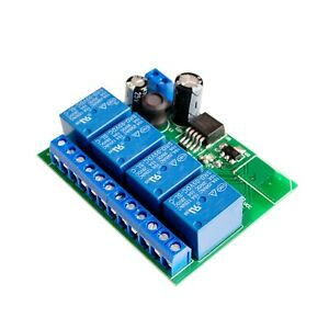 4-Channel-Relay-Module-Bluetooth-4-0-BLE-for-Apple-Android-Phone-IOT-Door-Entry