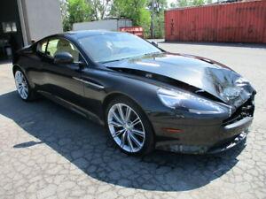 2013 Aston Martin DB9 LOW MILAGE , SALVAGE QUEBEC , CARBON BRAKE