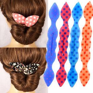 Astounding Rabbit Ear Magic Hair Styling Bun Maker Foam Sponge Curl Donut Hairstyle Inspiration Daily Dogsangcom