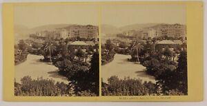 Nice Giardino Francia Foto Stereo Aleo & Davanne P28T4n46 Vintage Albumina c1865