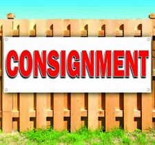 Consignment Advertising Vinyl Banner Flag Sign Many Sizes Usa