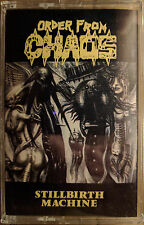 ORDER FROM CHAOS - STILLBIRTH MACHINE - SEALED - Original Wild Rags - RARE OOP