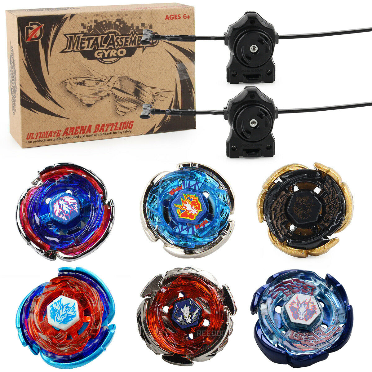 Kreisel für Beyblade Metall Master Fusion Arena Launcher Set Bayblade Metal Toy