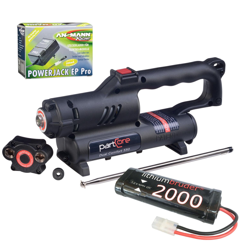 Elektroestrellater Dual  Comfort 550 rossoore con Batteria e autoicabatteria Set per 15-  liquidazione