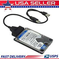 2.5″ Sata To Usb 2.0 Cable Serial Ata Adapter For Hdd/ssd Laptop Hard Drive