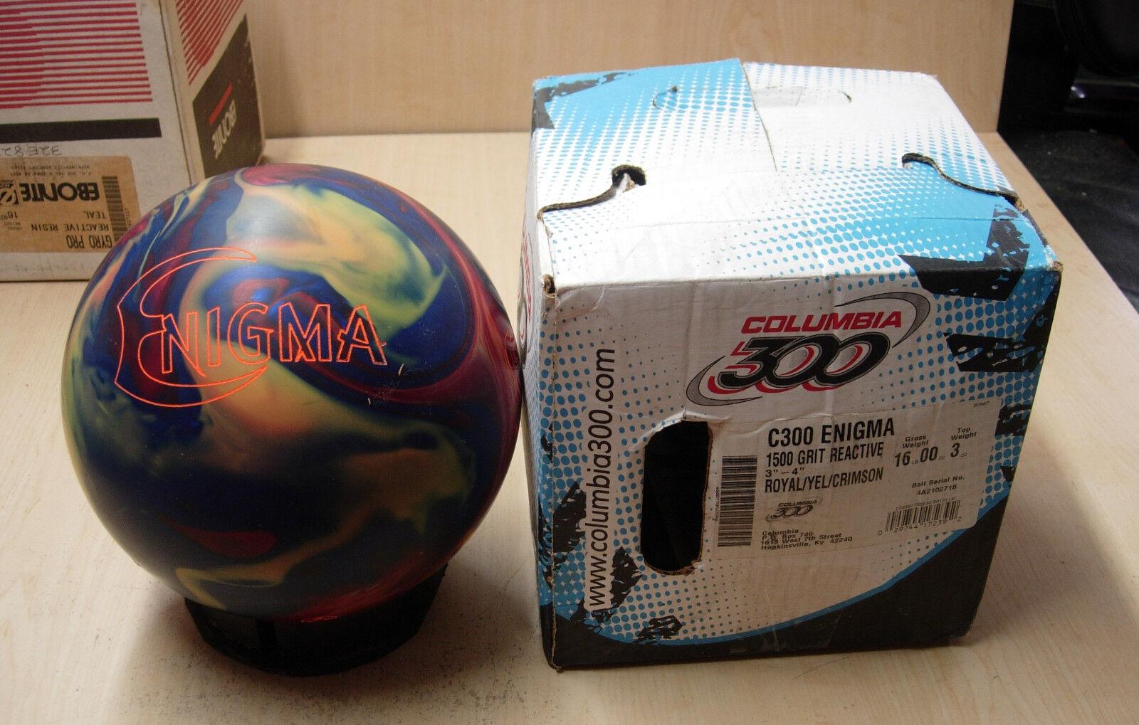 16Columbia ENIGMA Bowling Ball NOS NIB